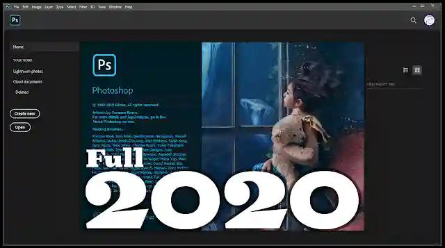 كيفية تحميل برنامج الفوتوشوب 2020 كامل