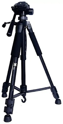 Kodak T210 150cm Three Way Pan Movement Tripod Stand for Camera | Best Tripod for DSLR and Mobile in India | Best Tripod Reviews