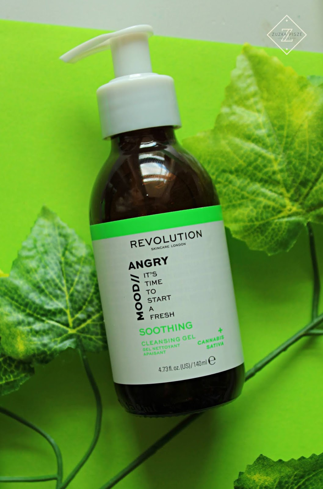 REVOLUTION SKINCARE - MOOD / ANGRY Cleansing Gel