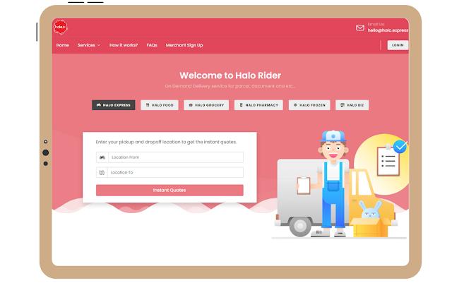 Halo Jer : Website