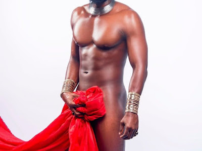 Big brother housemate stripped naked for Valentine Photoshoot.