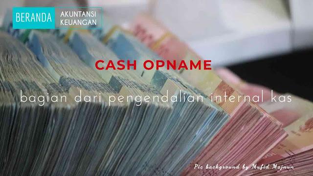cash opname