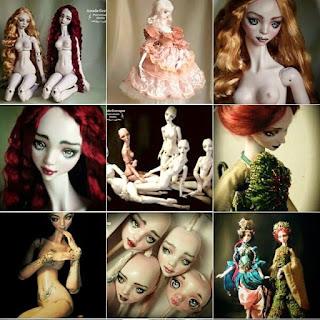 porcelain bjd dolls custom made original art