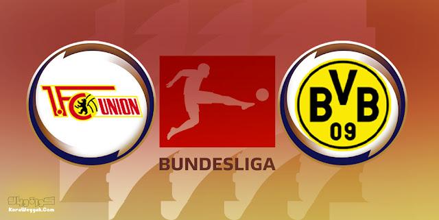 نتيجة مباراة بوروسيا دورتموند ويونيون برلين اليوم 19 سبتمبر 2021 في الدوري الالماني