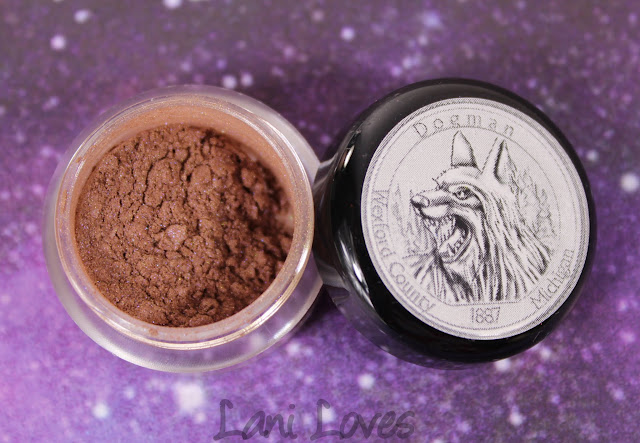 Notoriously Morbid Dogman eyeshadow swatches & review