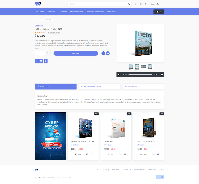 Code Web Toko Online Digital