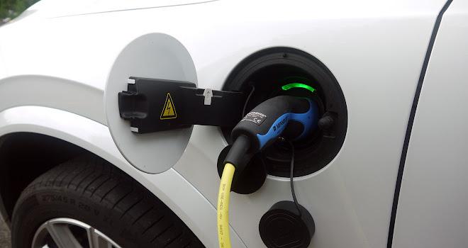 Volvo XC90 T8 charging socket