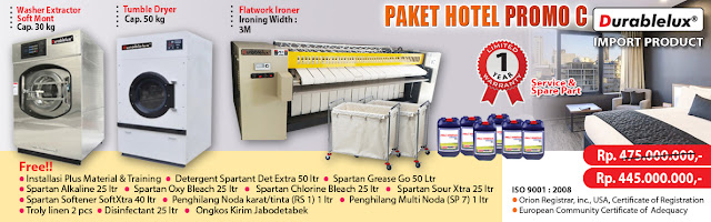 PROMO-PAKET-HOTEL-C1 Mau Buka usaha laundry Kiloan,  Satuan,  Rumah Sakit atau Hotel Baca Ini Dulu !