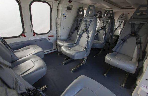 Airbus H225 interior