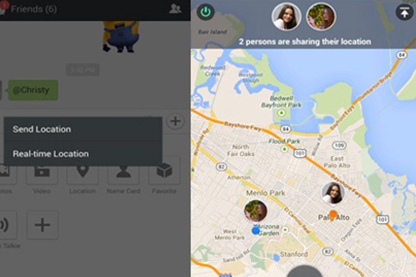 wechat share realtime location