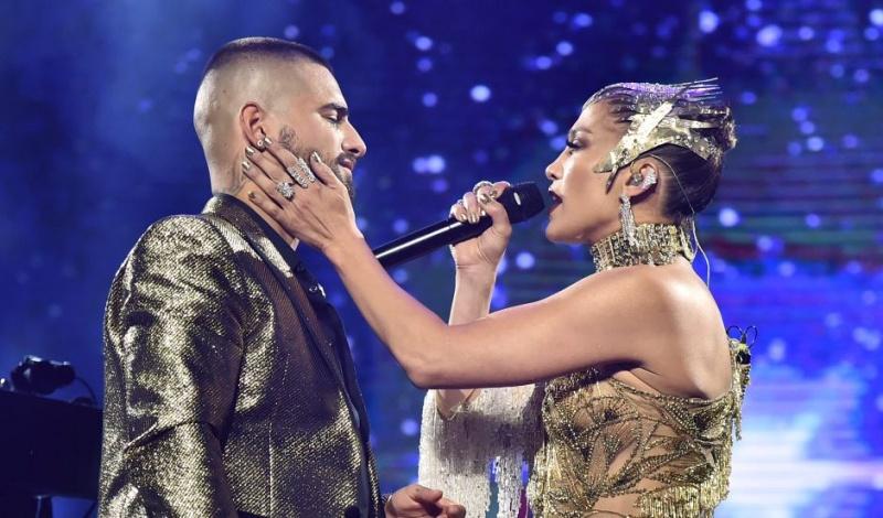 """Maluma y Jennifer López cantaron """"No Me Ames"""" y el público los rechaza en Instagram"""