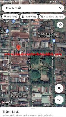 Bán đất Phường Thành Nhất TP Buôn Ma Thuột 1 tỷ 490