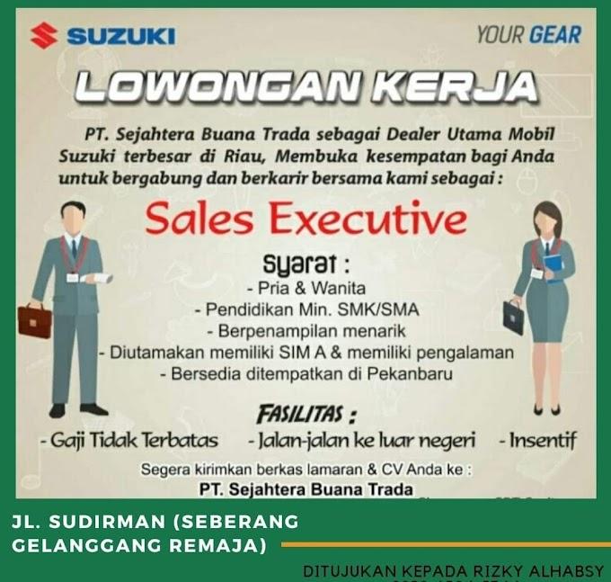 Lowongan Pekerjaan PT Sejahtera Buana Trada staf Sales Exective