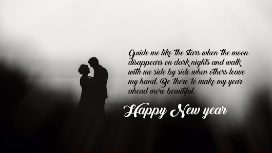 Happy New Year 2017 Messages for Couples