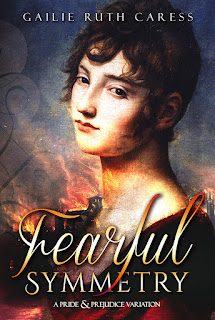 Book cover: Fearful Symmetry by Gailie Ruth Caress