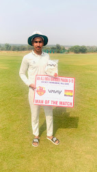 करण की बदौलत से रविंदर फागना क्रिकेट अकादमी ने जीता मैच