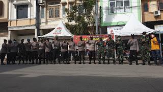 Pasca Pilkada, Polres Pelabuhan Bersama TNI Tingkatkan Patroli Wilayah