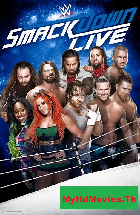WWE Friday Night Smackdown (28 August 2020) English 300MB | 1400MB HDRip Download