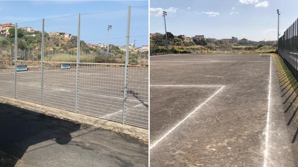 Progetto riqualificazione campo Duca D'Aosta Sport e Periferie