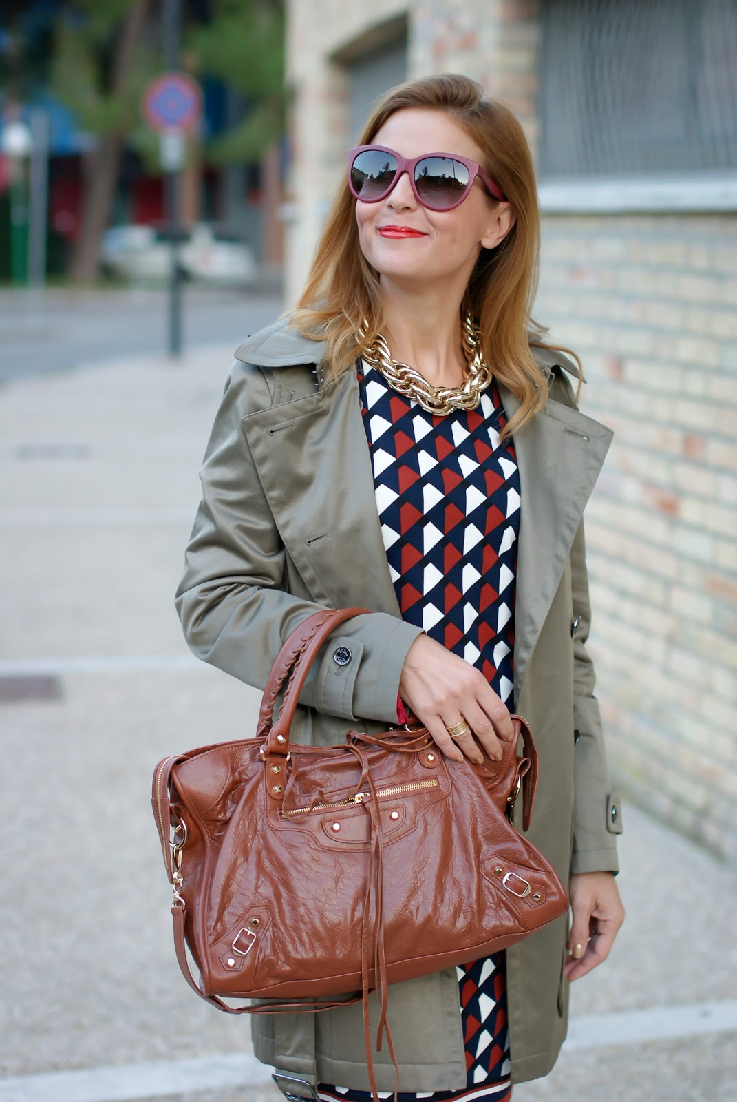 1.2.3 Paris Fall/Winter hooded trench on Fashion and Cookies fashion blog, fashion blogger style