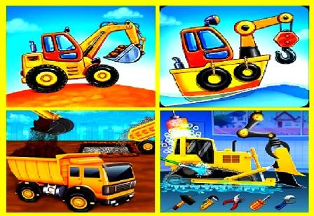 बच्चों के लिए ट्रक गेम - घर की इमारत कार धोने का फ्री डाउनलोड गेम