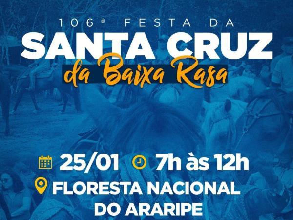 Festa da Santa Cruz da Baixa Rasa ocorre nesse sábado em Crato