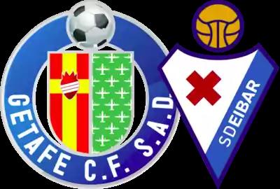 escudos de Getafe y SD Eibar