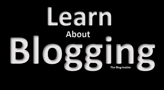 Learn about Blogging.