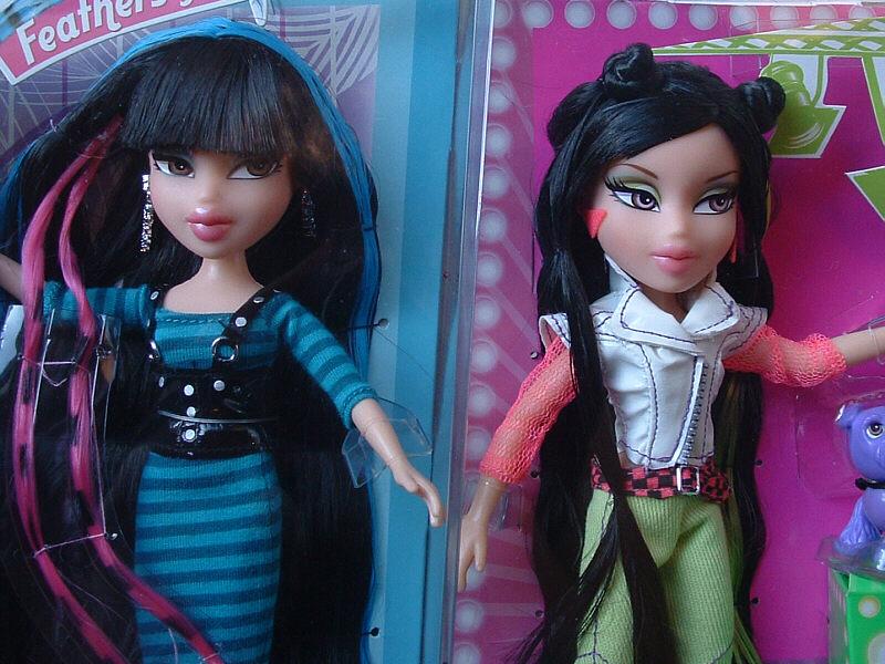 Msj S Doll Pit Bratz Featherageous Jade