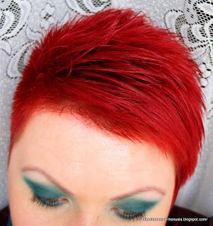 I znów jestem czerwona czyli... L'oreal Féria Préférence P67 Pure Scarlet Bardzo Intensywna Czerwień