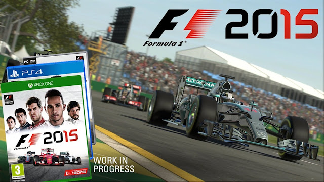 F1 2015 PC Game Download Poster