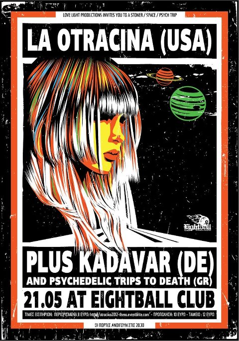 [Live Report] La Otracina, Kadavar, Psychedelic Trips To Death @ Thessaloniki, 21/05/2012