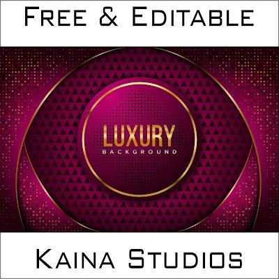 Design Background Golden Luxury