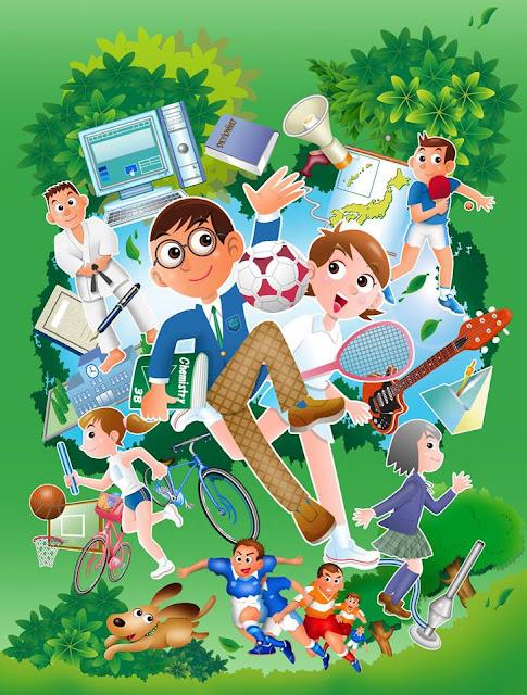 小学校、中学校、イラスト、学校、用品、表紙、 内田洋行、モノタロウ、子供、元気、挿絵、カタログ 行事、スポーツ、授業、友達、放課後、クラブ,イラストレーター検索、イラストレーター一覧、イラスト制作