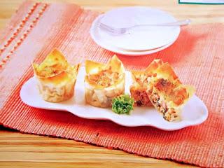 Gambar Resep Lasagna Bayam