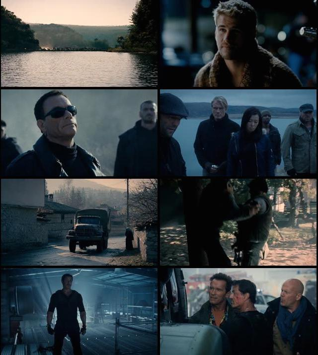 The Expendables 2 2012 Hindi Dual Audio BluRay 720p
