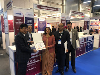 Bhartiya Skill Development University reaches out to international universities at European Association for International Education (EAIE) exhibition