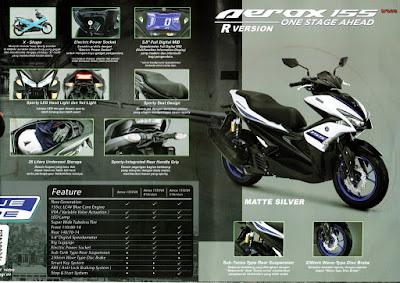 Bagasi Motor Yamaha Aerox 155