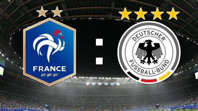แทงบอล วิเคราะห์บอล กระชับมิตรทีมชาติ : ทีมชาติฝรั่งเศส vs ทีมชาติเยอรมัน
