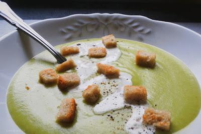 Kartoffel-Lauch-Cremesuppe