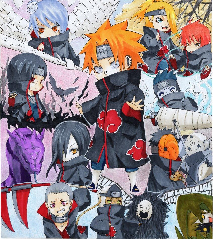 Meus Animes Fodas: Meus Animes Foda : Akatsuki