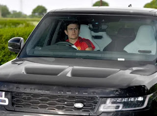 Manchester United players arrive Carrington base with new looks ahead of EPL return