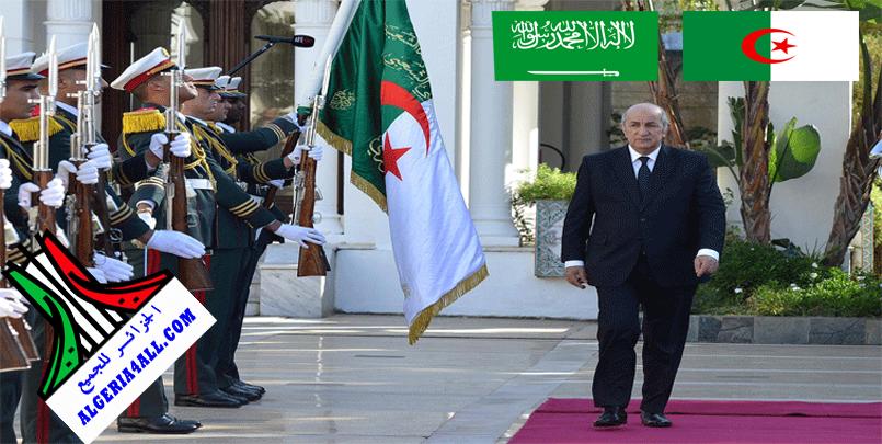 الرئيس تبون في السعودية