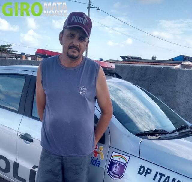 Delegacia de Itambé prende foragido no estado da Paraíba