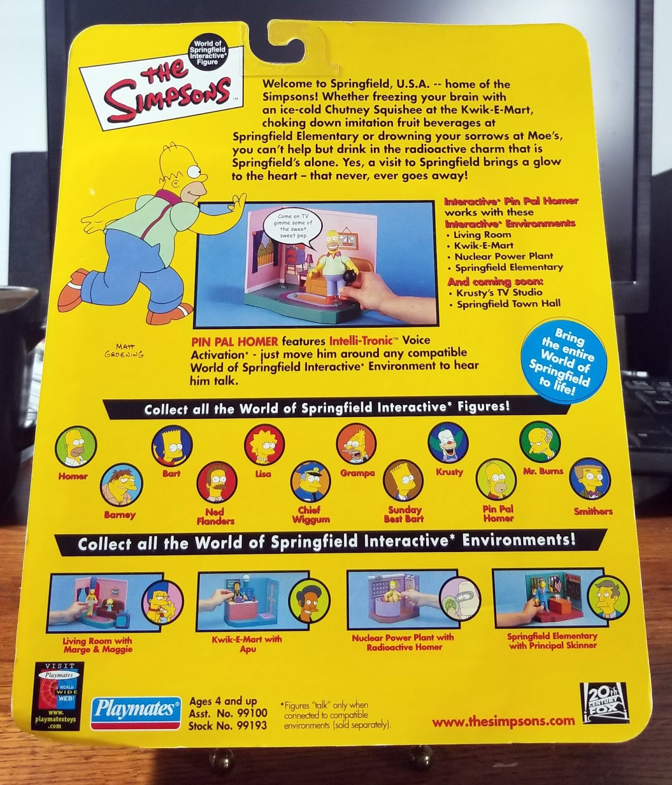The Simpsons Nuclear Power Plant Playset New Sealed LAST ONE IN STOCK