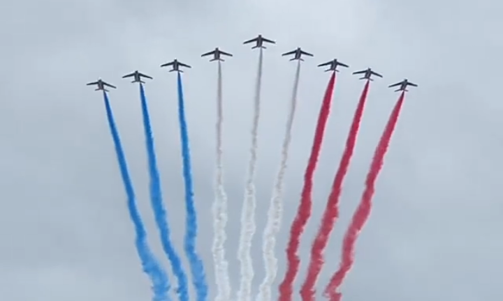 July 14th: France celebrates Bastille Day, with thousands of troops