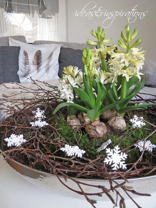 Ideas And Inspirations Winterliche Tischdeko Winter Table Decor