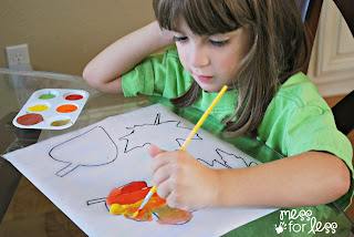 DIY Thanksgiving Activities ideas from Mess for Less on Montessori-On-A-Budget.com