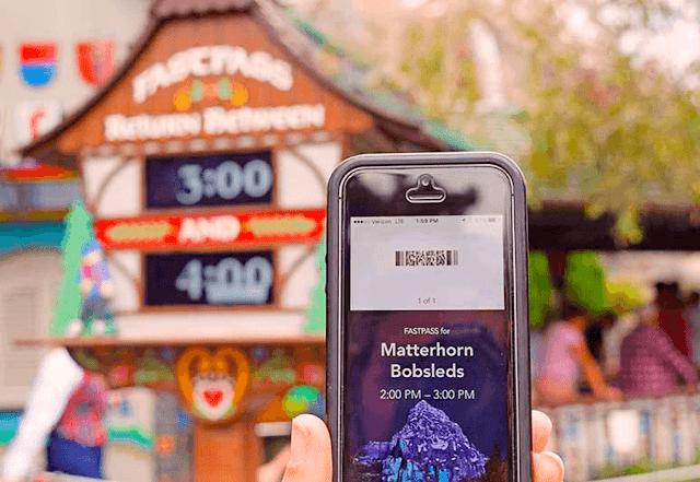 App MaxPass Disneyland