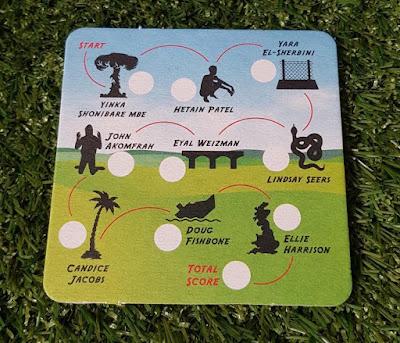 Doug Fishbone's Leisure Land Golf scorecard